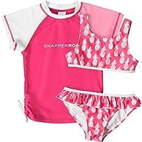 Snapper Rock 1505/2 - Ropa de natación con protección solar para niña, color rosa, talla UK: 1 años