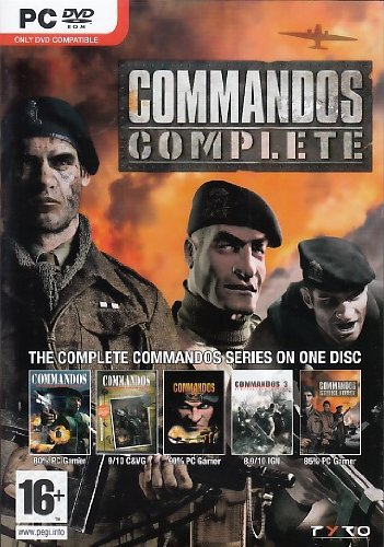 Commandos Complete Collection (PC DVD) [Importación Inglesa]
