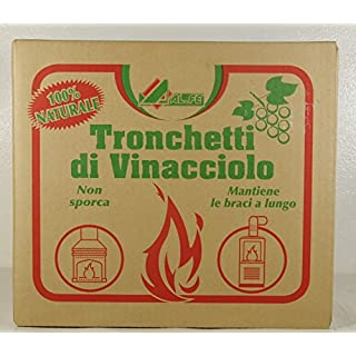 Long-lasting FUEL BRIQUETTES CANNED GRAPE FROM 15 KG