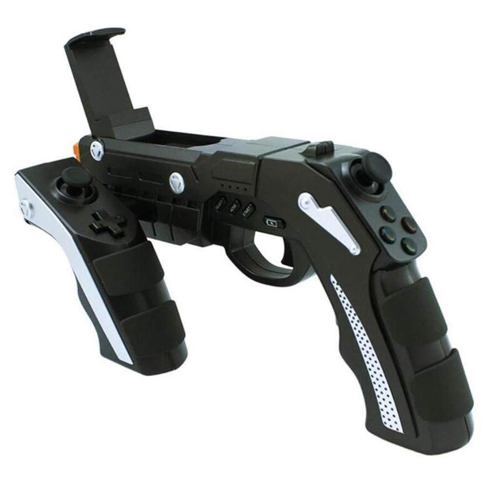 Manette de jeu sans fil Bluetooth, Pistolet de manette de jeu, Cadeaux pour hommes et enfants, Noir 2016 Nouveau