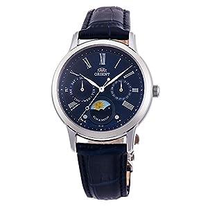 Orient Reloj para Hombre Analógico Automático con Brazalete de Cuero ET0T004D