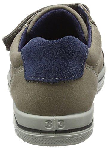 Ricosta Jason, Sneaker a Collo Basso Unisex – Bambini Beige (Kies 653)