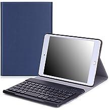 """MoKo 5015993 7.9"""" Folio Indigo funda para tablet - fundas para tablets (20,1 cm (7.9""""), Folio, Indigo, Imitación piel, Apple, iPad Mini 4)"""