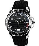 CIVO Herren Schwarz Uhren Groß Militär Sport Uhr 30M Wasserdicht Classic Kalender Datum Luxus Business Analog Armbanduhr Silikon Uhrband