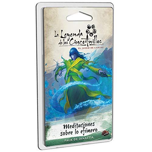 Fantasy Flight Games-La La Leyenda de los Cinco Anillos: Meditaciones sobre lo Efímero - Español, Color (FFL5C07)
