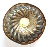 Antiquitäten - antike Backform, Verzierung, Schokoladenform -Blüte (166)