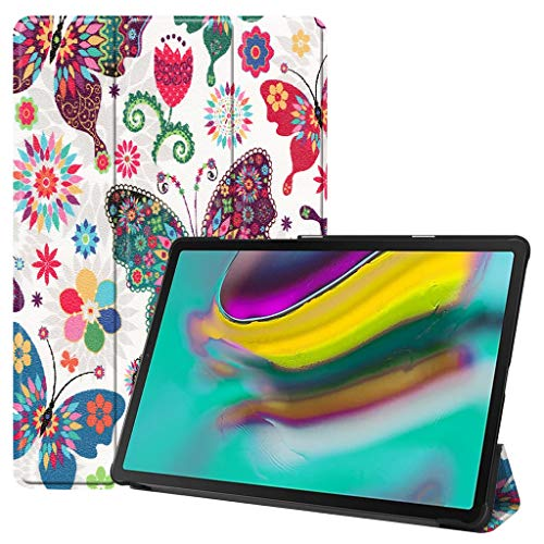 jfhrfged Für Samsung Galaxy Tab S5e 10.5 2019 T720 T725 Smart Magnetic Ledertasche (C) (Galaxy Skinomi Tablet Tab)