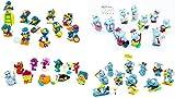Kinder Überraschung 4 Sätze, Company - Aqualand - Cluburlaub und Bingo Birds (40 Ü-Ei Figuren))