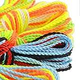 Ficelle Yoyo, Beetest® Chaîne de Yoyo de rechange de polyester de chaîne de 80Pcs Yoyo pour la couleur aléatoire d'adultes d'enfants