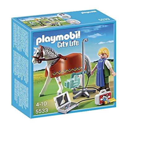 Playmobil Veterinaria - Caballo técnico Rayos X