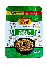 Express Feast Millet Pongal | Instant Millet Pongal | Ready to Cook Millet Pongal | 3 Mins-Ready to Meal