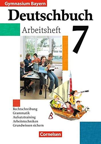 Deutschbuch 7. Arbeitsheft mit Lösungen., 2. Auflage Nachdr.