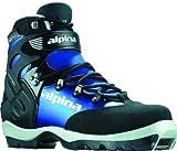 Alpina Damen bc-1550Eve wartet Nordic Langlauf Ski Stiefel, für Verwendung mit nnn-bc Bindung, schwarz/blau, 35
