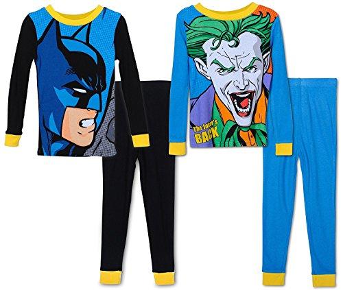 DC Comics - Pijama dos piezas - para niño multicolor Multicolor