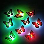 Mariposas luces intermitentes 3d 01