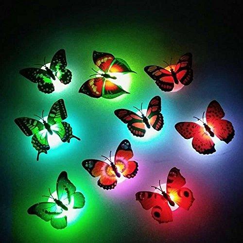 Mariposas luces intermitentes 3d 01
