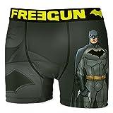Freegun Bóxer para Hombre DC Comics Justice League Batman (S, Solo)