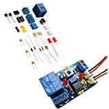 BliliDIY 3Pcs Bricolage Lm393 Kit De Module Comparateur De Tension avec Bande De Protection Inversée Indiquant Le Circuit Comparateur De Tension 12V Multifonctionnel...