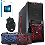 Freshtech AMD A8 4.2Ghz Quad Core 8GB 1TB FTS Gaming PC Windows 10 64Bit Computer Rampage Gigabyte F2A68HM-HD2 Motherboard 8GB DDR3 1600mhz Performance Ram Onboard AMD Radeon HD 8570D EVGA 500w 80 Plus Certified 40a Single Rail Power Supply 1tb Western Digital WD10EZEX 64mb Cache 7200rpm HDD