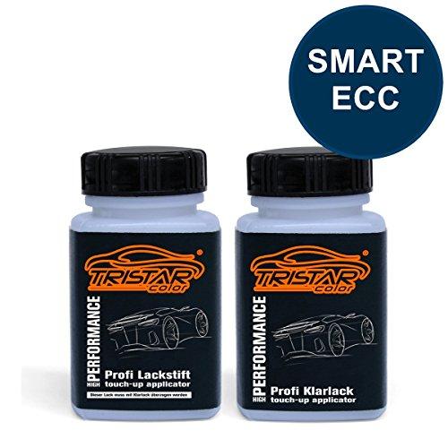 Lackstift Set SMART ECC EXCITING BLUE M. ab 2007 - Autolack & Klarlack - je 50 ml