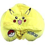 LYLXS Pokemon U-förmigen Kissen Haustier Pikachu Winter Hut Cartoon mit