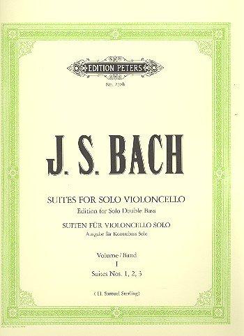 6 SUITEN 1 (VC) - arrangiert für Kontrabass [Noten / Sheetmusic] Komponist: BACH JOHANN SEBASTIAN