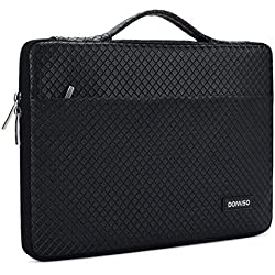 """DOMISO 11-11,6 Pulgadas Funda Resistente al Agua Bolsa Protectora para Ordenador Portátil/Tablet / 11.6"""" MacBook Air/Microsoft Surface Pro 5, 4, 3 / ASUS/HP / Acer/MSI, con Mango, Negro"""