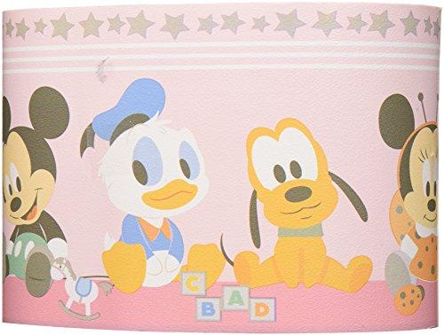 Dandino MK 3500-2 Cenefa Mickey and Friends, Rosa, 25x20x20 cm
