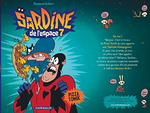 Sardine de l'espace - tome 7 - Pizza Tomik