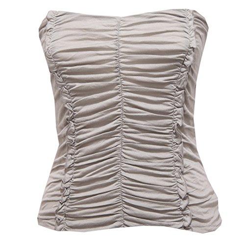85090 maglia top PATRIZIA PEPE VISCOSA polo donna t-shirt women [1/ XS]