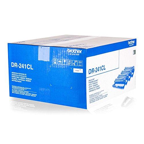 Original Trommeleinheit DR-241CL für Brother DCP-9015 9020 9022 - MFC-9140 9142 9330 9332 9340 9342 - HL-31XXd - DR241CL Bulk / Neutrale Verpackung - Intuiflex