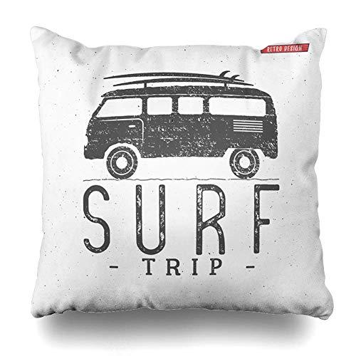 Green Haoke RV Beach Surf Trip Summer Surfing Sports Recreation Camp Vintage...