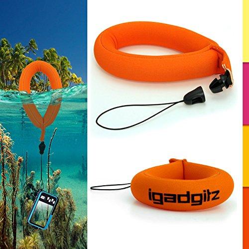 igadgitz u4545Wasserdicht Armband für Unterwasser Kameras, Ferngläser & Schutzhülle–Neon...