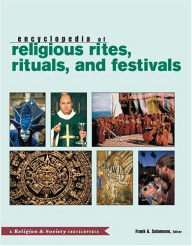 Routledge Encyclopedia of Religious Rites, Rituals and Festivals (Religion and Society) (2004-06-25) par unknown
