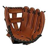 Vbestlife Guanto da Baseball Addensato, 10,5 11,5 12,5 Guanto da Battuta da Competizione in Pelle PU per Adulti per Teenager Adulto(12.5 inch)