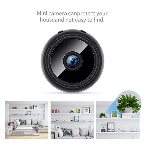 FREDI HD1080P WIFI telecamera Spia videocamera nascosta Microcamera Wireless Mini Camera spia microtelecamera wifi Hidden Spy Cam Videocamera di sorveglianza Interno IP telecamera di sorveglianza - 5
