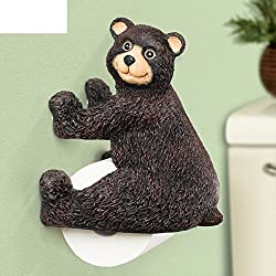 Tissues Holder Bathtoilet Tissue Holdercreative Bathroom Toilet Paper Holdersuper Cute Bear Towel Rackroll-a