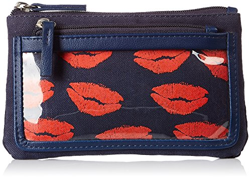baggit Women's Cosmetic Bag (Blue)  available at amazon for Rs.404