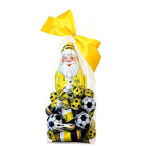 Borussia Dortmund Schokoladenmischung, Schwarzgelb, 400g, BVB-Emblem one size