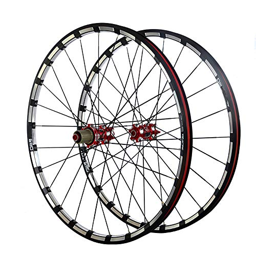 Wanlianer-Sports Fahrradfelge 26 Zoll Carbon Fiber MTB Mountainbike Fahrrad Radsatz Ultra Light Alloy Felge Carbon Hub Räder Wheelset Felgen MTB-Mountainbike - Carbon-felgen Fahrrad