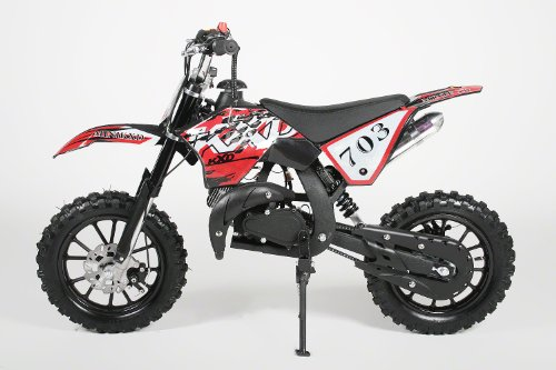 Dirtbike Crossbike 49cc Dirt Cross Pocket Bike Croxx (Schwarz)
