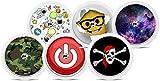 Freestyle Libre Sticker - 6er Set'Boys I' | Diasticker