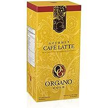 Organo Gold Gourmet Cafe Latte - Café con leche (Mejorado con el hongo Ganoderma Lucidum).