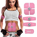 Charminer Muscle Toner, Abdominal Toning Belts EMS Abs Trainer Body Fitness Trainer Gym