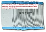 Pro-Flex Blue Mini Tabs With Holes Toupee Tape by True Tape Co BEAUTY by