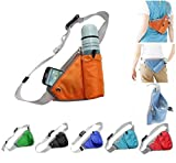#10: Density Collection Waist Pack Running Belt with Water Bottle Holder, Zippered Pouch for Phone and Keys, Lightweight Sports Fanny Pack,Hip Hydration Bag with Reflective for Outdoor Walking and Hiking