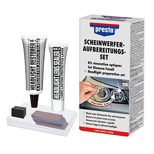 Presto 365171 Scheinwerfer Aufbereitungs-Set