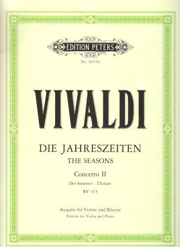 Cto Violon Op.8 No2 L'Eté - Vl/Po