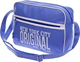 Schultasche Schulranzen Schultertasche Citybag Flugbegleiter Umhängetasche Business Messenger Bag Tasche (L.-Blue)