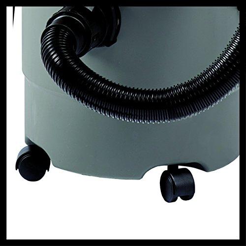 Einhell Nass Trockensauger TH-VC 1815 (1250 W, 180 mbar, 15 l, Kunststoffbehälter, 1,5 m Saugschlauch, umfangreiches Zubehör) - 3